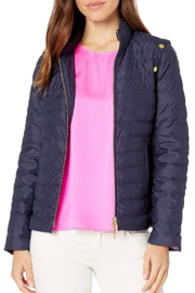 Lilly Pulitzer  Haisley puffer jacket - Front cropped