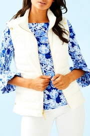 Lilly Pulitzer Haisley Puffer Jacket/vest - Product Mini Image