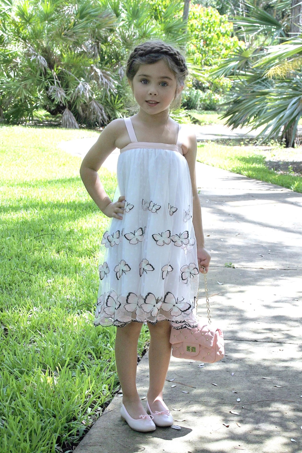 fa0e13a31b14 Halabaloo Butterfly Mesh Dress from Florida by Warm Hearts Special ...