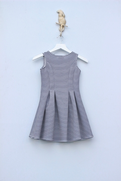 Halabaloo Striped Flare Dress - Alternate List Image