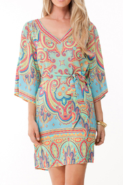Hale Bob Calla Paisley Dress - Product Mini Image