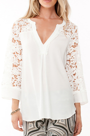 Hale Bob Fiorelli Lace Top - Product Mini Image