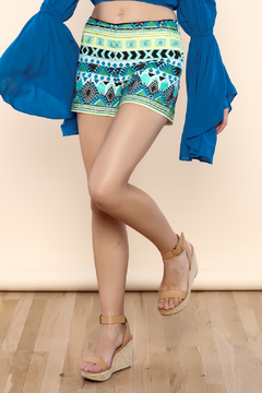 Shoptiques Product: Lillian Embroidered Shorts