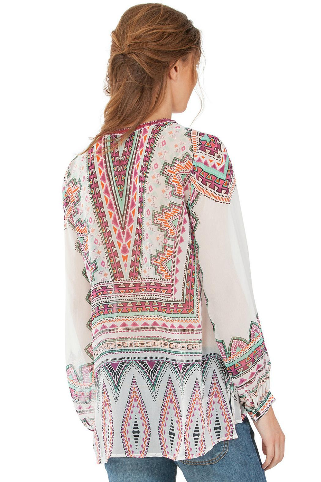 Hale Bob Beaded Tunic - Front Full Image