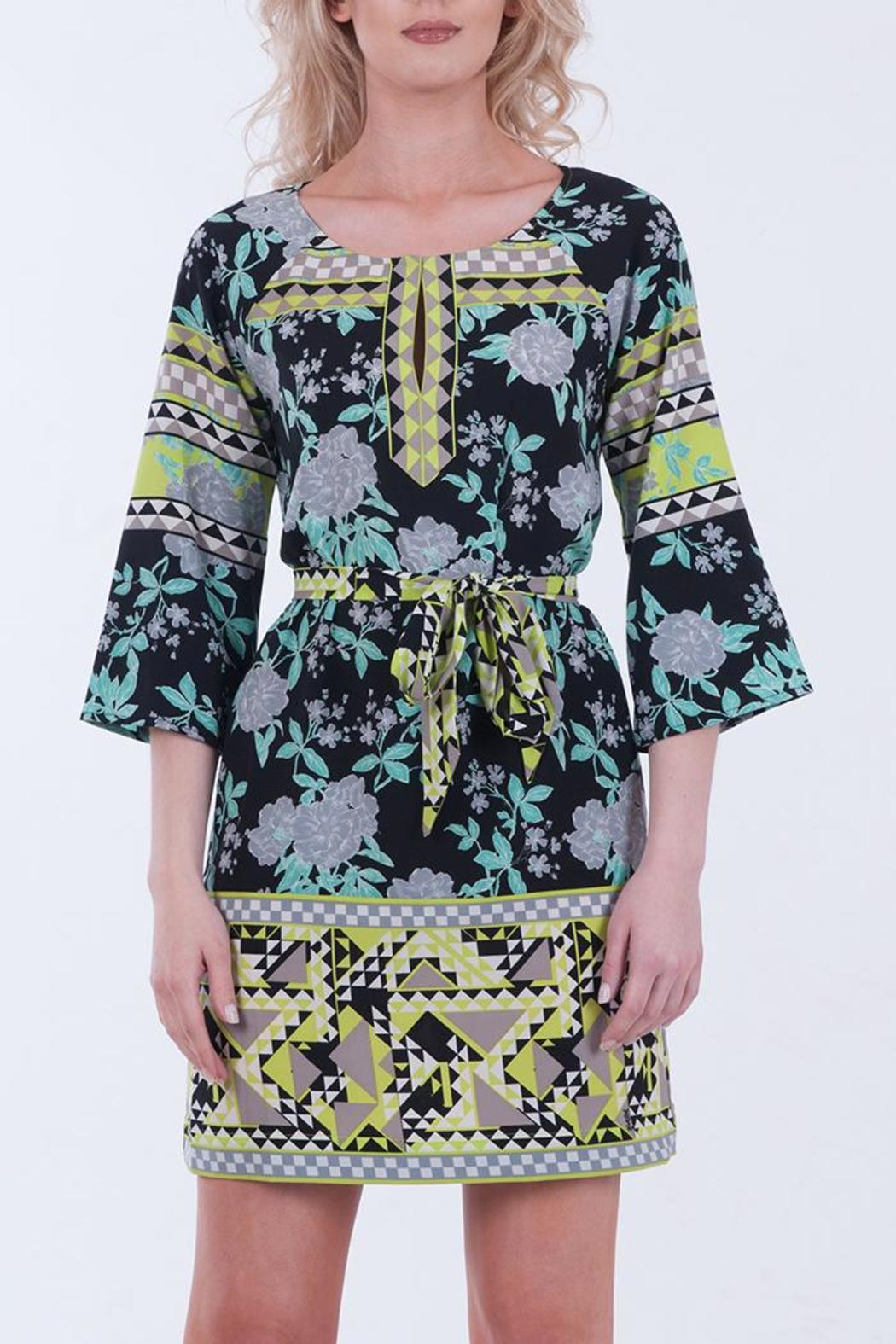 hale bob belted tunic dress from by maggie co
