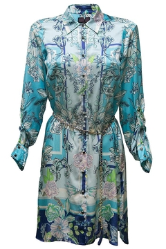 Shoptiques Product: Blue Tunic Dress