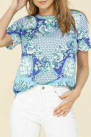Hale Bob Delaney Twill Top - Product Mini Image