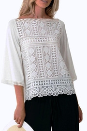 Hale Bob Naoko Crocheted Lace Blouse - Product Mini Image