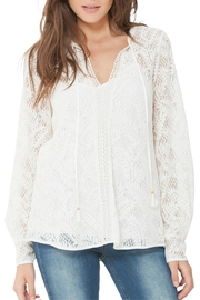 Hale Bob Novelty Lace Blouse - Product Mini Image