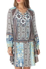 Hale Bob Talissa Smock Dress - Product Mini Image
