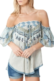 Hale Bob Janina Off The Shoulder Embroidered Tunic - Product Mini Image