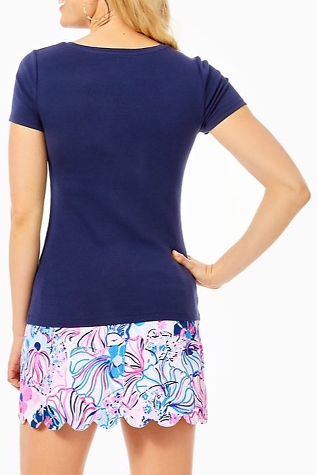 Lilly Pulitzer Halee Top - Front Full Image