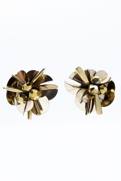 Mignonne Gavigan Haley Flower Stud Earrings - Alternate List Image