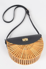 H&D Accessories Half Circle Bamboo - Front cropped