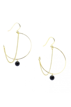 Zenzii Half Hoop Earrings - Alternate List Image