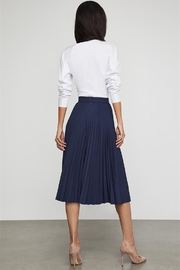 BCBG MAXAZRIA Half Pleat Culotte Pant - Front full body