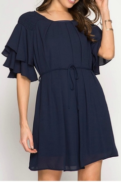 She + Sky Half Sleeve Dress - Product List Image