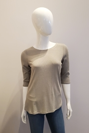 Katherine Barclay Half-Sleeve Tee, Seaglass - Front cropped
