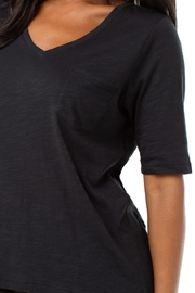 Liverpool  Half Sleeve V-Neck Tee - Back cropped