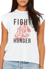 Half United Fight Hunger Tee - Front cropped