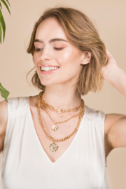 Saachi Halfpenny Necklace - Other