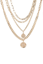 Saachi Halfpenny Necklace - Back cropped