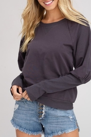 Listicle Hallogen Sleeve Top - Front full body