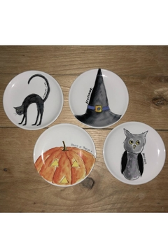 Rae Dunn Halloween Dessert Plates - Alternate List Image
