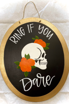 Shoptiques Product: Halloween Sign