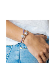 The Birds Nest HALO DISC/PEARL HAIR TIES/BRACELETS - Front full body