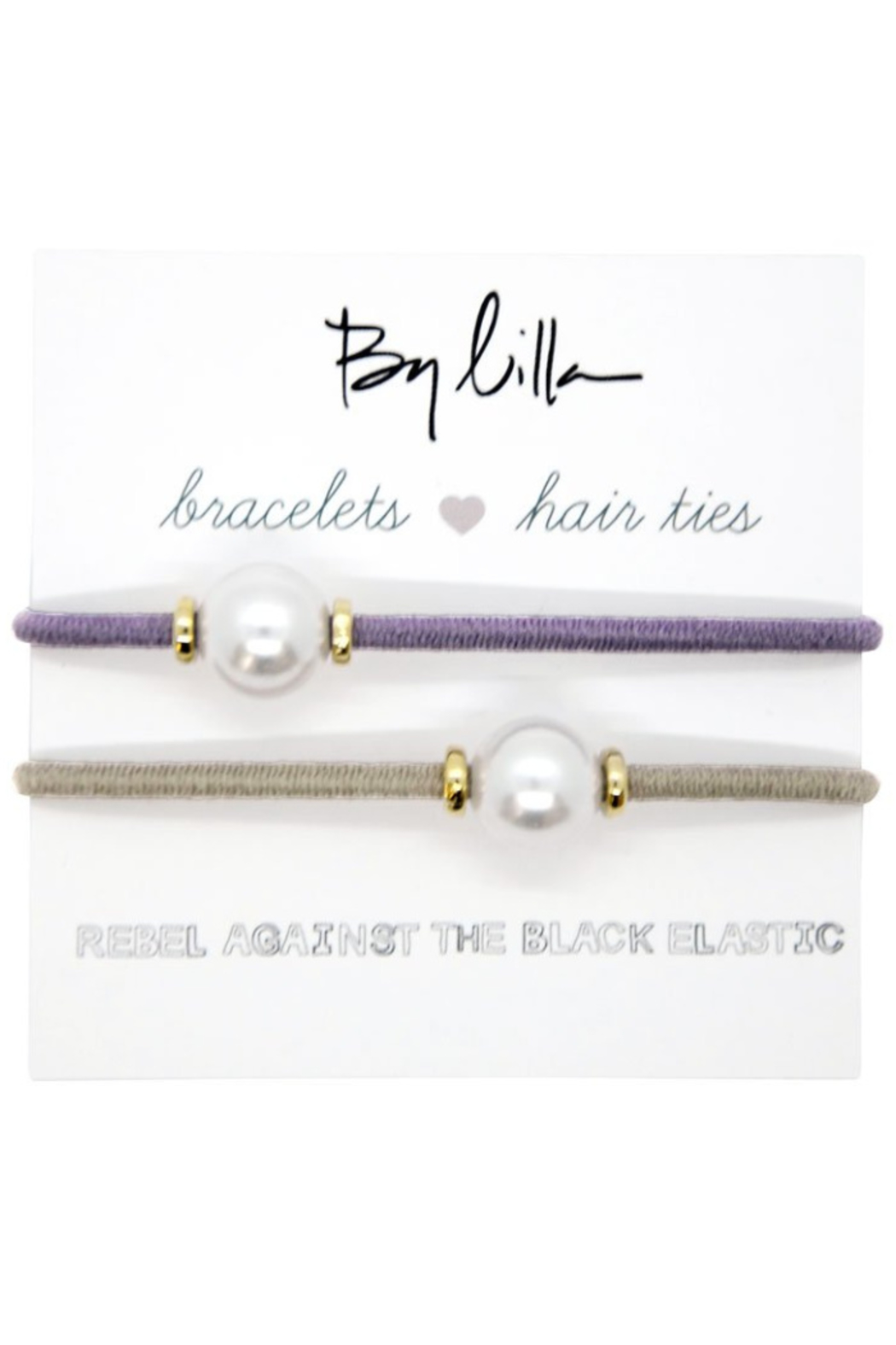 The Birds Nest HALO DISC/PEARL HAIR TIES/BRACELETS - Front Cropped Image