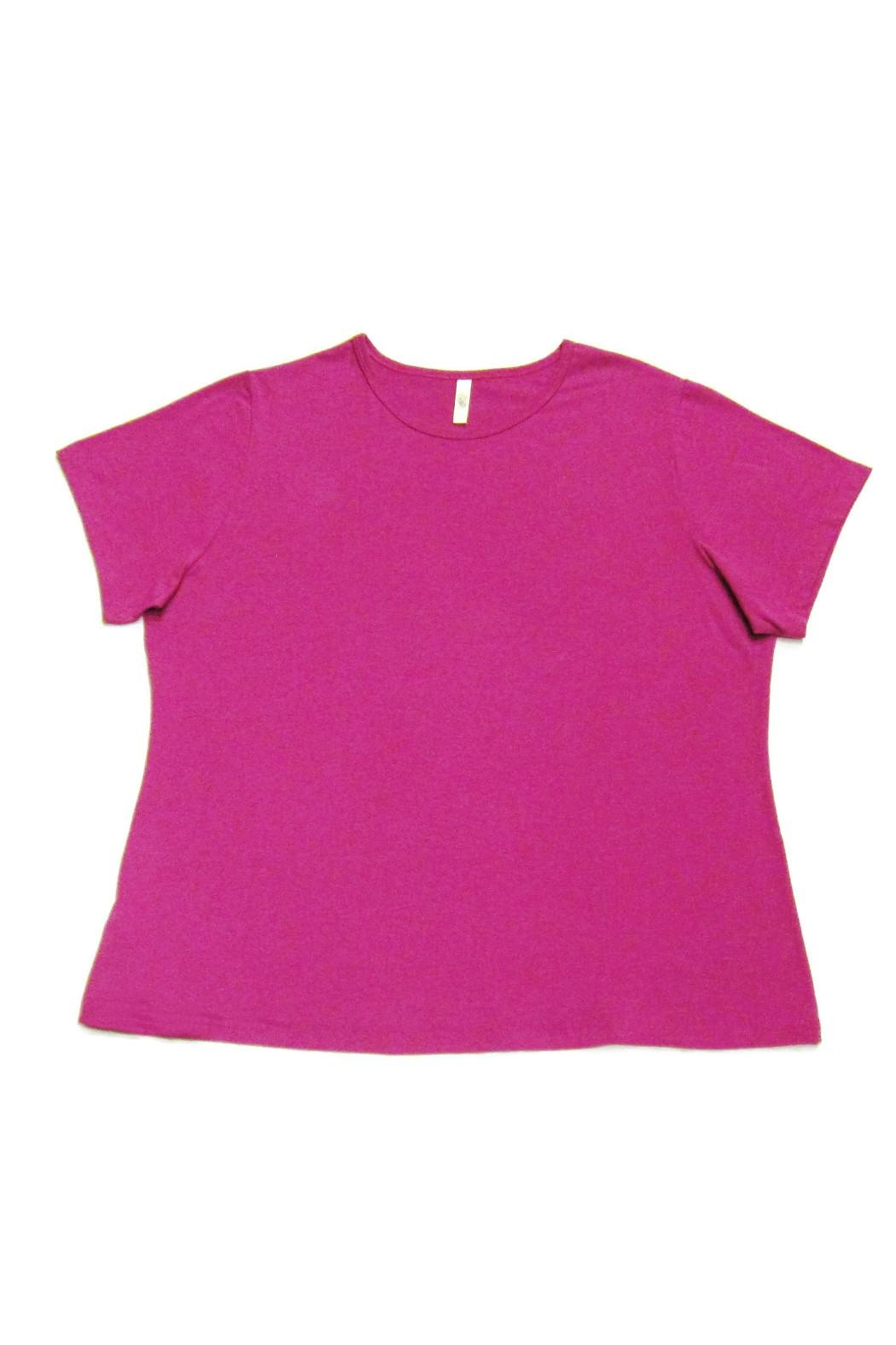 Halo Pink Tee Shirt - Front Cropped Image