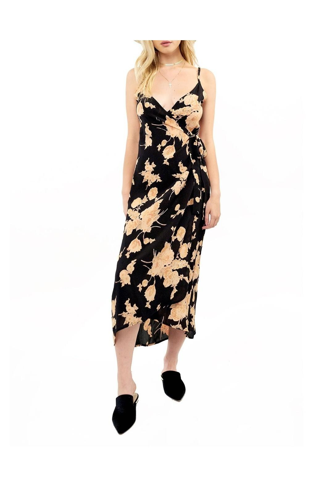Saltwater Luxe Halsey Midi Dress - Front Cropped Image
