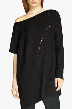 Halston Heritage Asymmetric Poncho - Product List Image