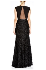 Halston Heritage Feather Boucle Gown - Product Mini Image