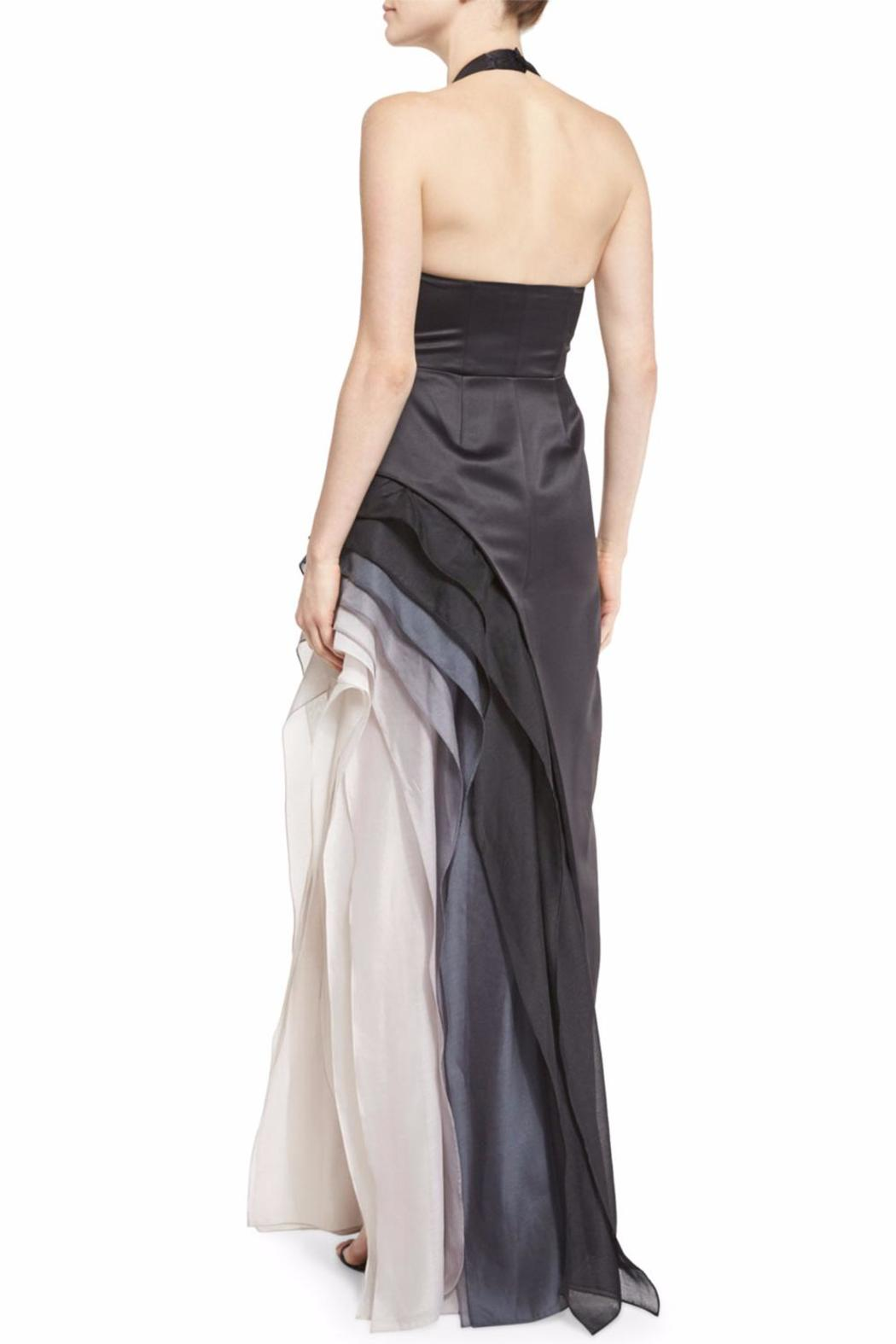 Halston Heritage Ombre Halter Gown from New Jersey by District 5 ...
