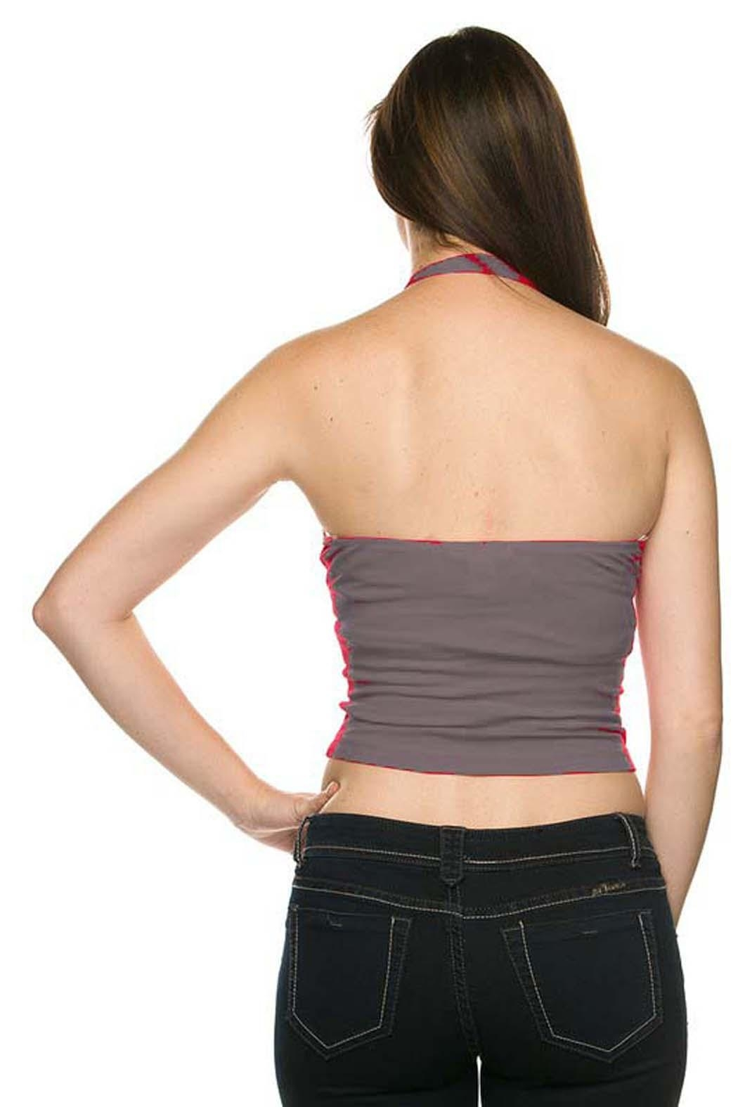 Ambiance Halter Crop Top - Front Full Image