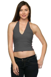 Ambiance Halter Crop Top - Front cropped