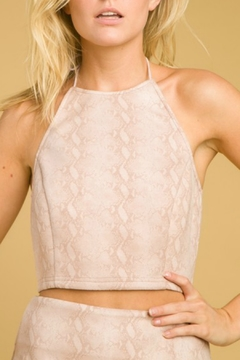 honey belle Halter Crop Top - Product List Image