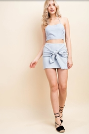 Wild Honey Halter Crop Top - Product Mini Image