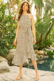 THML Clothing Halter Dress with Ruffles - Product Mini Image