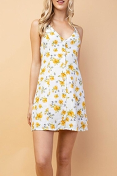 Le Lis Halter Floral Dress - Alternate List Image