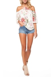 Dex Halter Floral Top - Product Mini Image