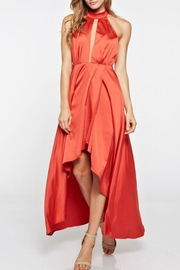 the clothing company Halter Long Dress - Front cropped