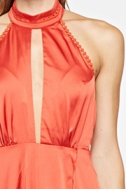the clothing company Halter Long Dress - Back cropped