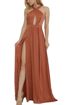 1 Funky Halter Long Dress - Product List Image
