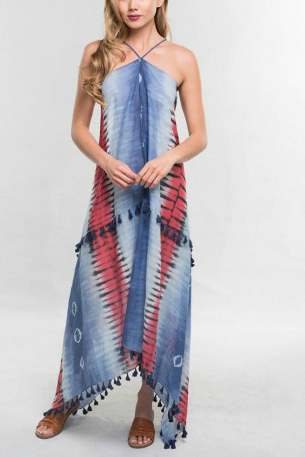 4e496f8fca0e3 Love Stitch Halter Maxi Dress from Raleigh by Athleisure — Shoptiques
