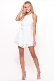 Chikas Halter Mini Dress - Front cropped