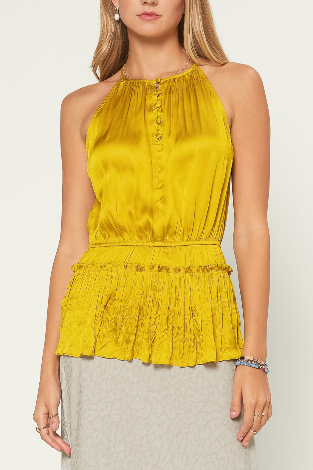 Current Air  Halter Neck Blouse - Main Image