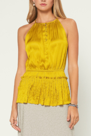 Current Air  Halter Neck Blouse - Front cropped